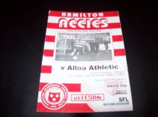 Hamilton Academical v Alloa Athletic, 1999/2000